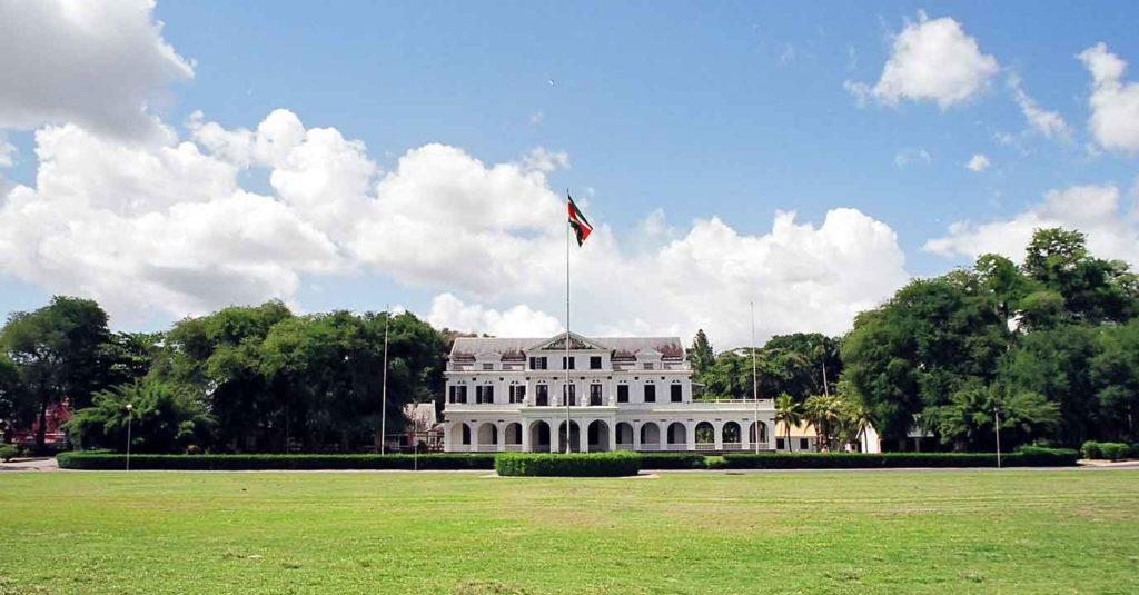 presidentiële paleis suriname