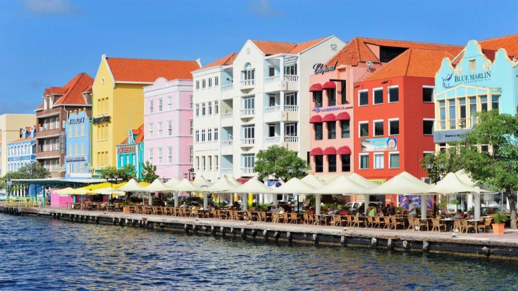 Bezoek Handelskade Curacao