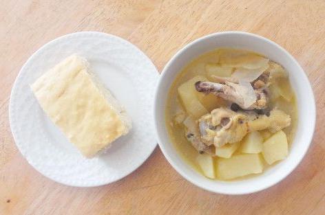 cucina delle Bahamas