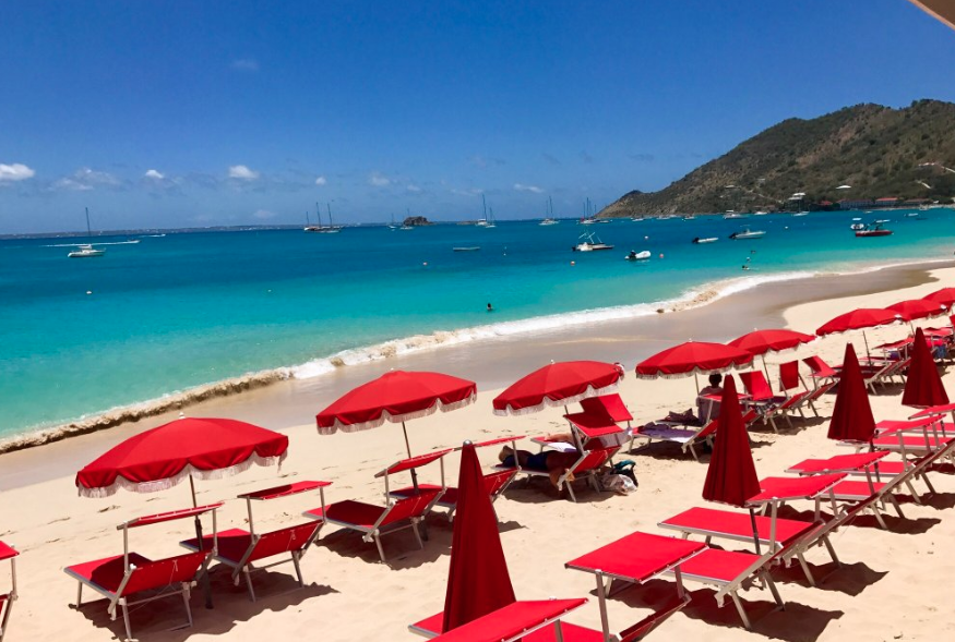 Grand Case Beach, St. Martin