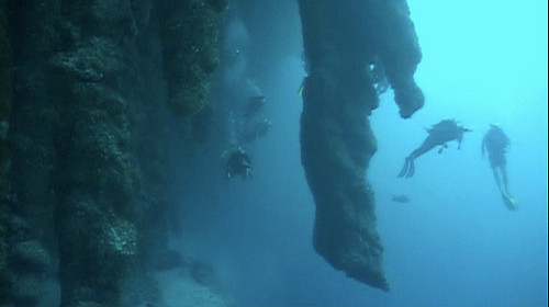 diving Great Blue Hole