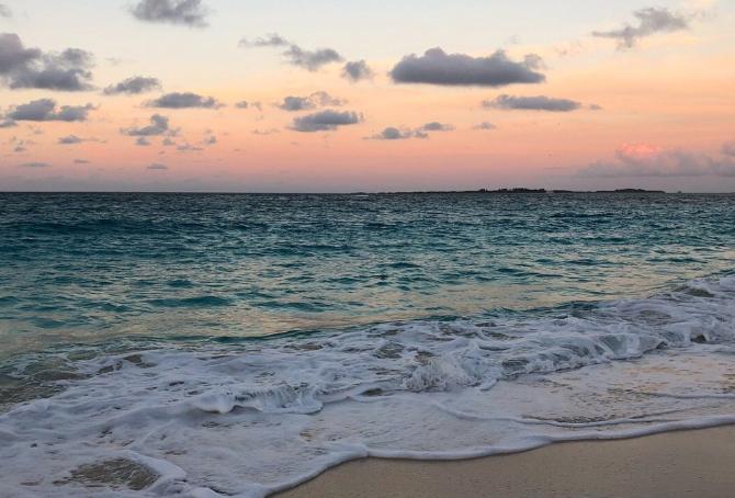 바하마 해변