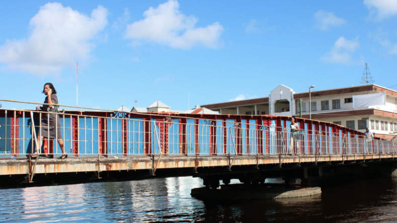 Swing Bridge, Belize City