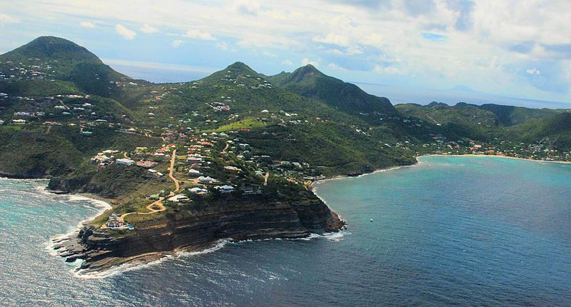 view of St. Barths
