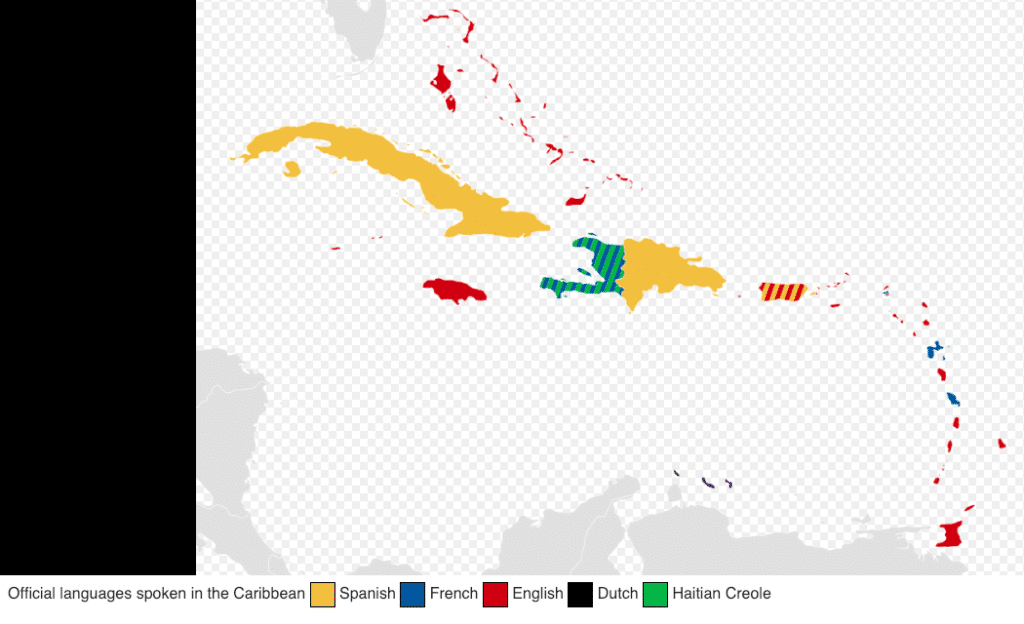 Languages of the Caribbean.