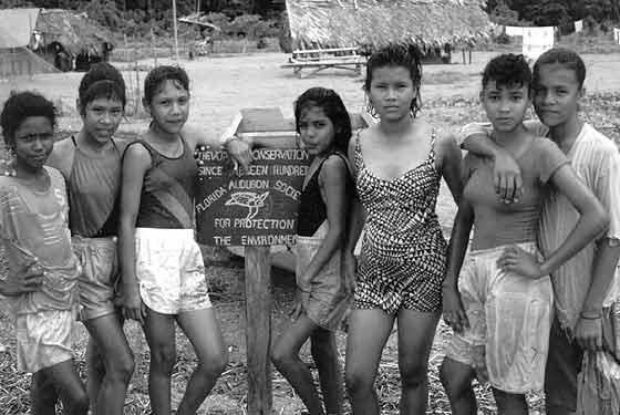 Араваки dzieci