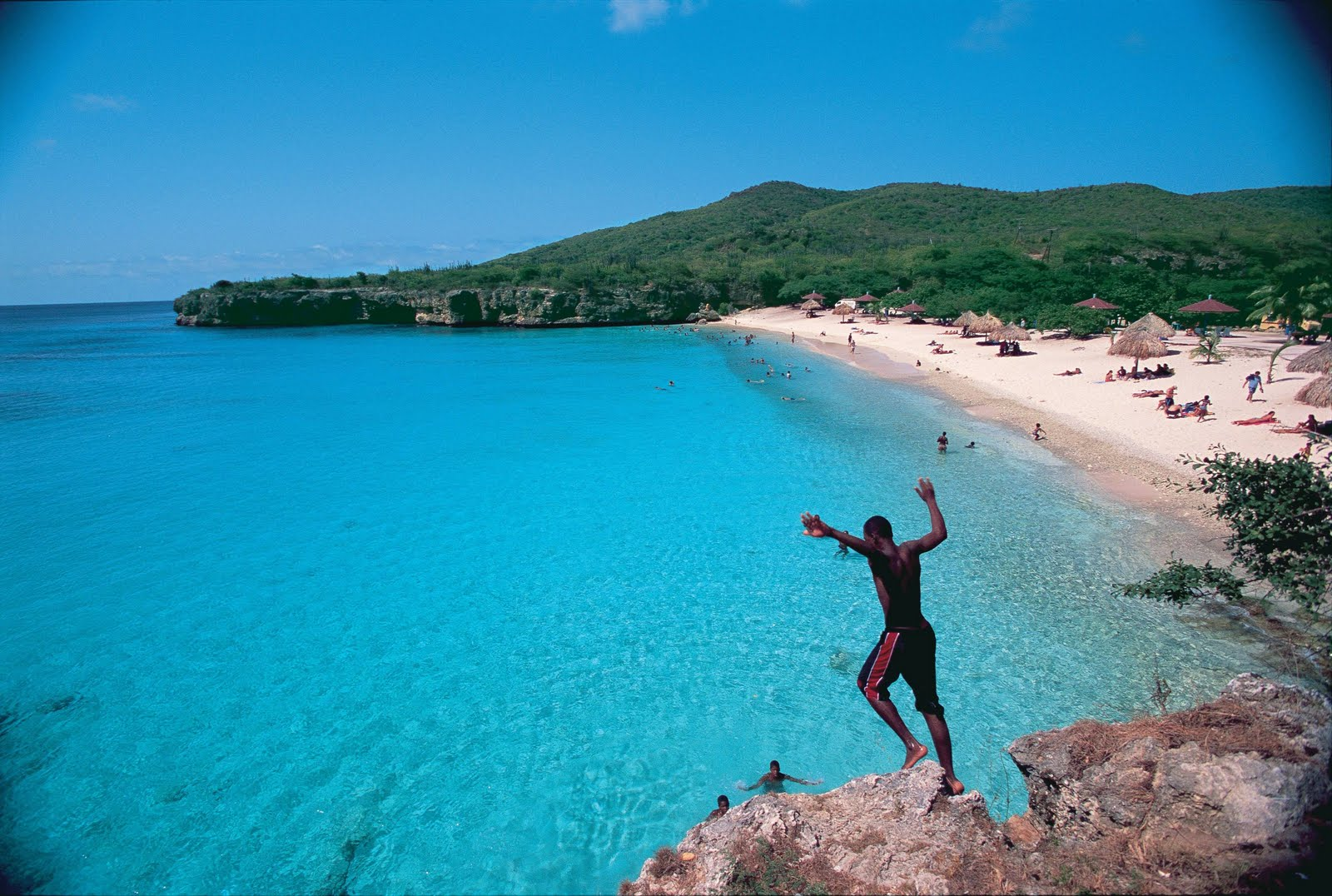 Knip Beach Curacao The Bluest Water In The World