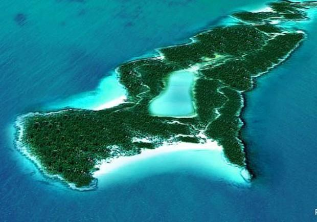 Private islands in the Caribbean.