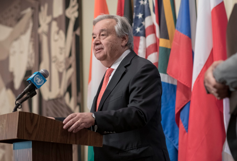 Guterres to make Caribbean Climate Resilient Zone.