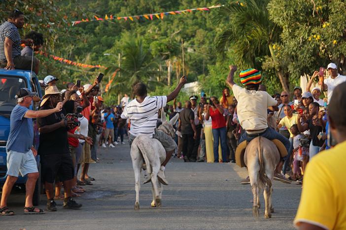 eventos Caribe estranhas.