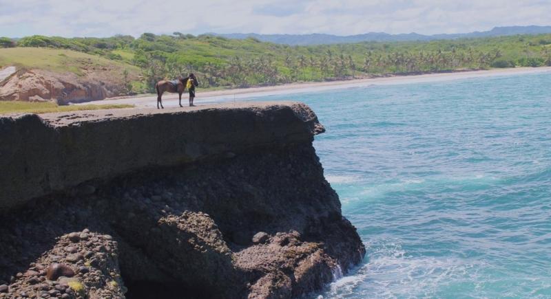 Ratsastus Karibian.