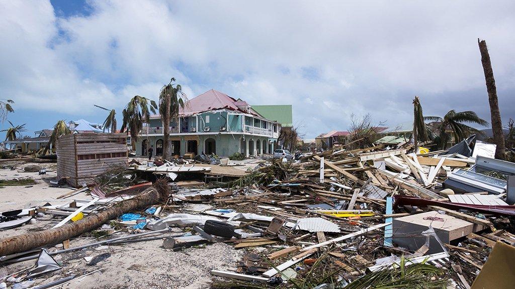 St Maarten hurricane Irma.