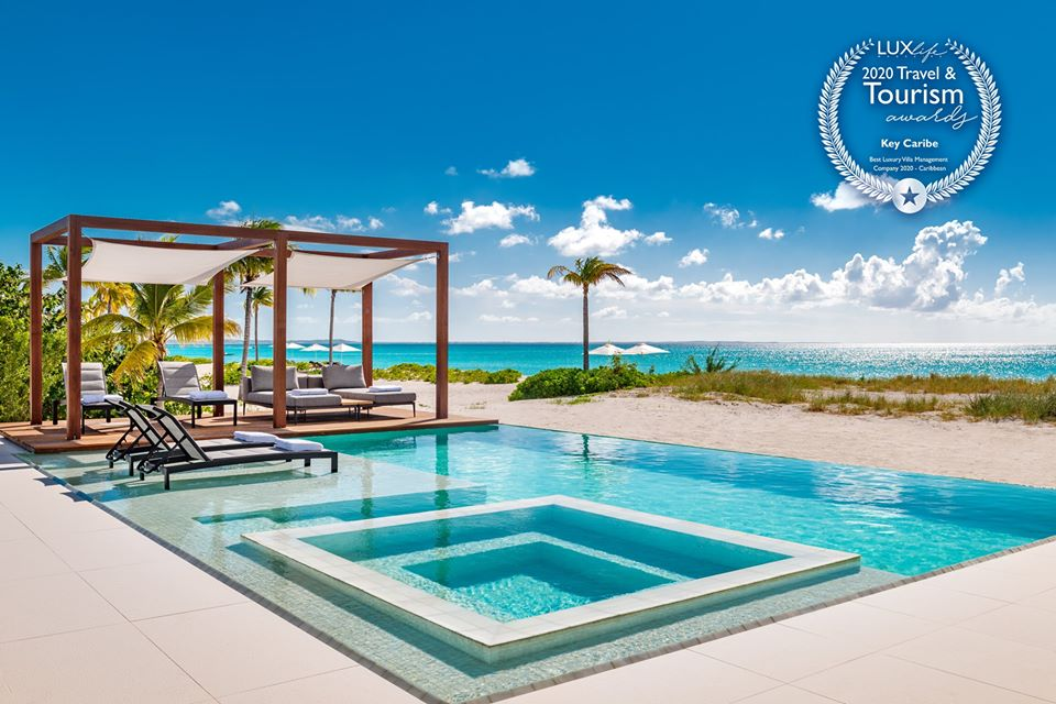 Key Caribe named Best Villa Management Company by LUXlife Magazine.